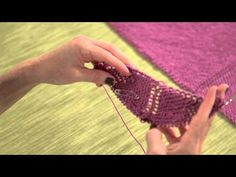 Learn How to Make a Triangle Scarf with Vickie Howell - YouTube