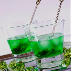 st. patty day cocktails from natureinsider.com