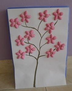 Pistachio Shell cherry blossom tree would look great enlarged on 3 canvases & hung in the living room