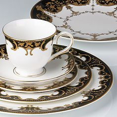 Marchesa Couture Baroque Night 5-pc Place Setting