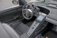 Porsche 918 Spyder, Innenraum
