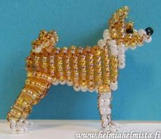 Basenji art  | Bead Beauty - Bead Animals