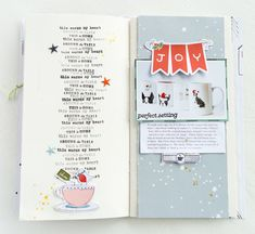 December Stories by at Studio Calico Christmas Journal, Christmas Travel, A Christmas Story, Scrapbook Sketches, Scrapbook Cards, Scrapbooking, Scrapbook Layouts, December Daily, Travelers Notebook