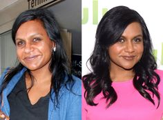 Mindy Kaling from Stars Without Makeup  After delivering an uproarious speech at Harvard over the weekend, Mindy hit up LAX totally fresh faced.