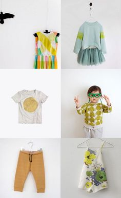 kids' fashions / via bloesem All but first dress
