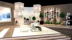 Tv Set Design, The Ellen Show, Tv Sets, Store Design, Dining Table, Behance, Studio, Furniture, Home Decor