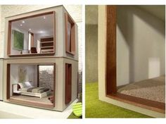 Modern Meets Minature-A Dollhouse For Adults From PRD Minatures