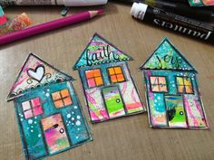 Below are some pics of various houses I have made. Hope this has helped fuel your creative juices. Have fun making these, but be warned they are very ...