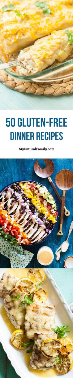 The 50 Best Gluten Free Dinner Recipes (Main Dishes)