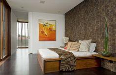 Diseño de dormitorio rústico