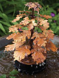 leaf fountain