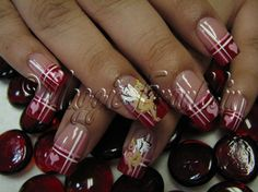 Valentine's cherubs by Onykophile - Nail Art Gallery nailartgallery.nailsmag.com by Nails Magazine www.nailsmag.com