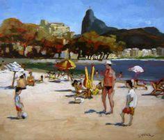 Urca, 2008 Márcio Schiaz (Brasil, 1965) óleo sobre madeira