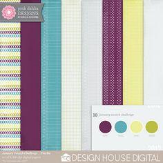Paper pack freebie from Pink Dahlia Designs #digiscrap #scrapbooking #digifree #scrap #freebie #scrapbook