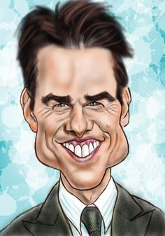 Tom Cruise - Creative Art in Digital Art by Alan Davis in Portfolio Movie Stars and Characters at Touchtalent