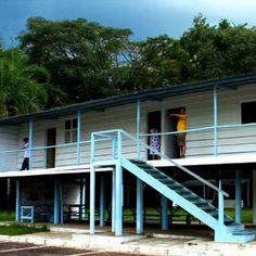 Catetinho - Primeira residência oficial do presidente Juscelino Kubitschek em Brasília.