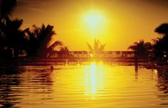 A sunrise swim is an invigorating start to a day at The Ritz-Carlton, South Beach.