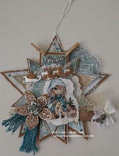 Noriko's kaarten hoekje 3d Cards, Xmas Cards, Christmas Tag, Christmas Ornaments, Shape Art, Marianne Design, Baby Cards, Diy Gifts, Cardmaking