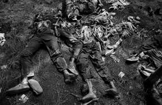 1994, the Rwandan Genocide. Over 100 days, between 500,000 to 1 million people or 20% of the population of Rwanda lost their lives due to ethnic tensions as Tutsis slaughtered Hutu. Photo by Jack Picone.