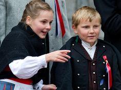 MyRoyals:  Norway's National Day, May 17, 2015-Princess Ingrid Alexandra and Prince Sverre Magnus
