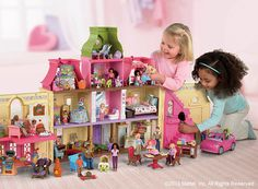 This dollhouse is a dream -- she'll play with it for hours. #FisherPrice #LovingFamily #Toy