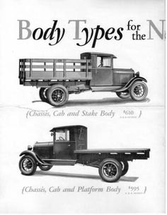 Appears to be Ford model AS. Antique Trucks, Vintage Trucks, Old Trucks, Antique Cars, 32 Ford, Ford Pickup Trucks, Truck Art, Busses, Ford Motor Company