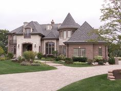 French Country home. Just beautiful.