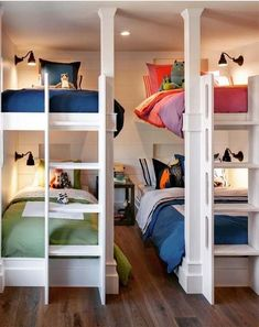 Space Saving Bunk Beds For Small Rooms You Need To Copy In 2019 - HomeLoveIn - Space Saving Bunk Beds For Small Rooms You Need To Copy In 2019 bunk bed ideas, sharing bedroom - Bunk Beds Small Room, Bunk Bed Rooms, Modern Bunk Beds, Cool Bunk Beds, Bunk Beds With Stairs, Kids Bunk Beds, Bunk Bed Ideas For Small Rooms, Cabin Bunk Beds, Bunk Bed Designs