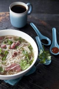 Photography by Chia Chong Styled by Libbie Summers Recipe adapted from allrecipes.com Beef Pho Ingredients: 7 pounds beef knuckles with meat 1 large white (daikon) radish, sliced 2 yellow onions, chopped 2 ounces whole star anise pods 1 cinnamon stick,...