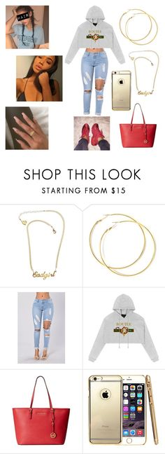 """""""Untitled #375"""" by cutiepieloves1 ❤ liked on Polyvore featuring VidaKush and Michael Kors"""