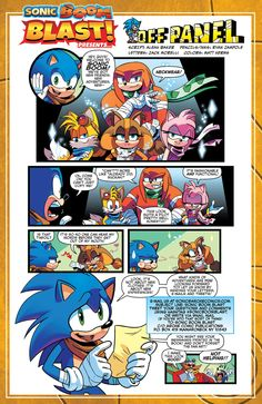 Sonic boom issue 1