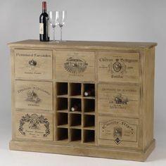 Idées bricolage trendy à base de caisses de vin en bois