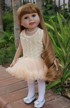 """Find new 18"""" dolls at Harmony Club Dolls. www.harmonyclubdolls.com"""
