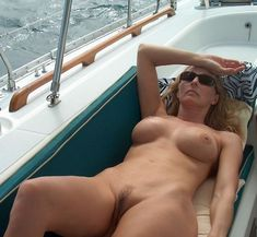 Topless housewives on boat the