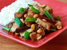 Making this with brown rice tonight! Kung Pao Chicken