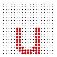 Monogram Alphabet, Bead Patterns, Perler Beads, Abstract, School, Artwork, Needlepoint, Art, Work Of Art