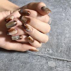 Pin on ネイル Luv Nails, Cute Toe Nails, Xmas Nails, Fingernails Painted, Basic Nails, Happy Nails, Feet Nails, Japanese Nails, Nail Arts