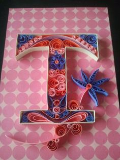 T quilled