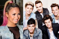 Demi Lovato não faria uma parceria com One Direction - http://metropolitanafm.uol.com.br/novidades/famosos/demi-lovato-nao-parceria-one-direction