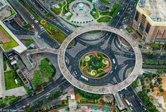 The Circular walk way in Shanghai