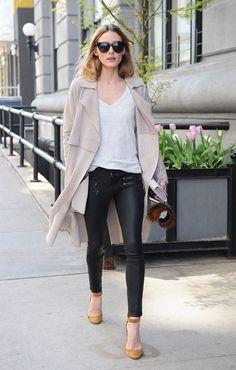 0165eded5b1f Olivia Palermo  Pants – Paige Shirt – Old Navy Sunglasses – Le Specs Key  Chain -Fendi Shoes – Jimmy Choo