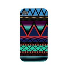 Neon Modern Tribal iPhone 4/4S Case-Mate by OrganicSaturation  View other Tribal Casemate Cases