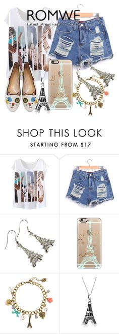 """""""Untitled #367"""" by sara-bitch1 ❤ liked on Polyvore featuring Casetify, claire's, Bling Jewelry and Charlotte Olympia"""
