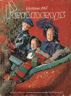 1967 Penneys Christmas Catalog. Always waited with such anticipation for the Christmas Catalogs. Miss that in the online world of today.
