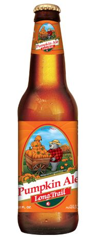 """""""look at that adorable bear. that bear want you to be drunk on pumpkins. PUMPKIN BEER!"""" Long Trail Pumpkin Ale. A solid pumpkin beer this season."""