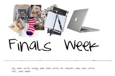"""""""Finals week"""" by blueeyedgirlreigns on Polyvore featuring Barbour International, Kate Spade, Smythson, Go Stationery, Shinola, Parker and Speck"""