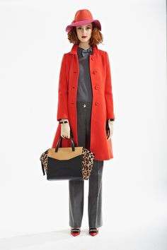 Kate Spade Fall 2013 New York Fashion Week // http://coquetteanddove.com
