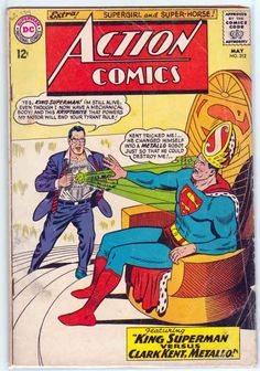 ACTION COMICS #312 (1964) Curt Swan Pencils & Cover. Robert Bernstein Pencils.