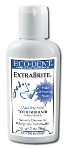 Eco-DenT ExtraBrite Tooth Powder. I love this stuff!