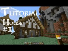Minecraft Tutorial: How to build a medieval house